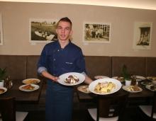 Šéfkuchař Martin Lekač